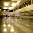Airport. Modern, illuminated, buildining — Stock Photo