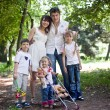 Beautiful famili — Foto de Stock