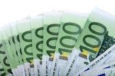 Hintergründe von hundert euro. — Stockfoto