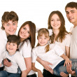 Happy family with children. — Stock Photo #3916198