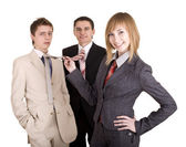 Group of in business suit. — Stock Photo