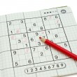 Sudoku - Lizenzfreies Foto