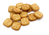 Letter cookies — Stock Photo