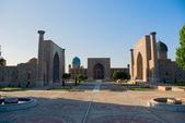 Registan Square. Samarkand — Stock Photo