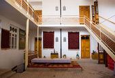 Traditionella orientaliska uteplats — Stockfoto
