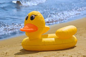 Inflatable duck — Stock Photo
