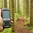 Gps on Trail — Stock Photo