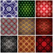 Royalty-Free Stock Vector Image: Wallpaper collection