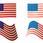 Usa flag grunge variation — Stock Vector #3409580