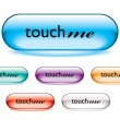 Touch me button — Stock Vector #3409781