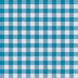 Table cloth blue - Stock Vector