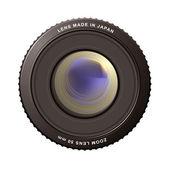 Zoom lens — Stock Vector