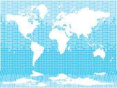 World tile light — Stock Vector