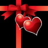 Valentine present — Stock Vector