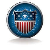 Us badge — Stock Vector