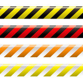 Warning tape — Stock Vector