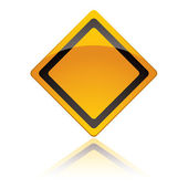 Warning sign icons — Stock Vector