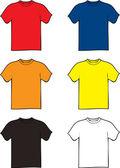 Tshirt variation — Stock Vector