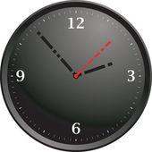 Tick tock modern — Stock Vector