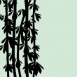 Royalty-Free Stock Imagen vectorial: Bamboo black
