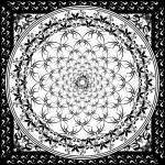 Black and white tile — Stock Vector #3413172