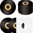 Stock Vector: Record variation