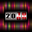 Rainbow new year — Image vectorielle
