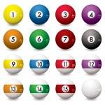 Pool balls — Stock Vector #3418666