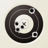 Target bullet — Stock Vector