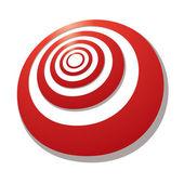 Target angle — Stock Vector