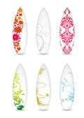 Surfboard collection — Stock Vector