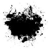 Ikona černé copyspace — Stock vektor