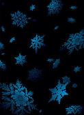 Snowflake fall — Stock Vector