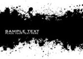 Black Text ink — Stock Vector