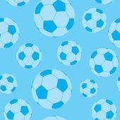 Seamless football wallpaper — Stock Vector