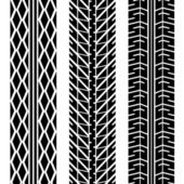 Road tires — Stock Vector