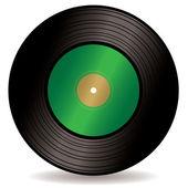 Record single — Stock Vector