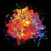 Rainbow spray — Stock Vector