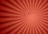 Radiate red grunge — Stock Vector