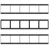 Photo film strip — Stock Vector