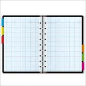 Organizer graph — Stock Vector