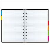 Organizer blank — Stock Vector