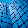 Royalty-Free Stock Vectorielle: Office building reflection wide