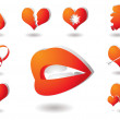 Love collection — Stock Vector