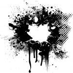Ink splat overlay — Stock Vector #3422405