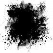 Ink splat round — Stock Vector #3422460