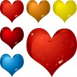 Hearts — Vector de stock #3422921