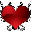Royalty-Free Stock Vector Image: Heart tattoo