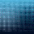 Halftone background blue - Vettoriali Stock