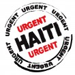 Haiti danger — Stock Vector